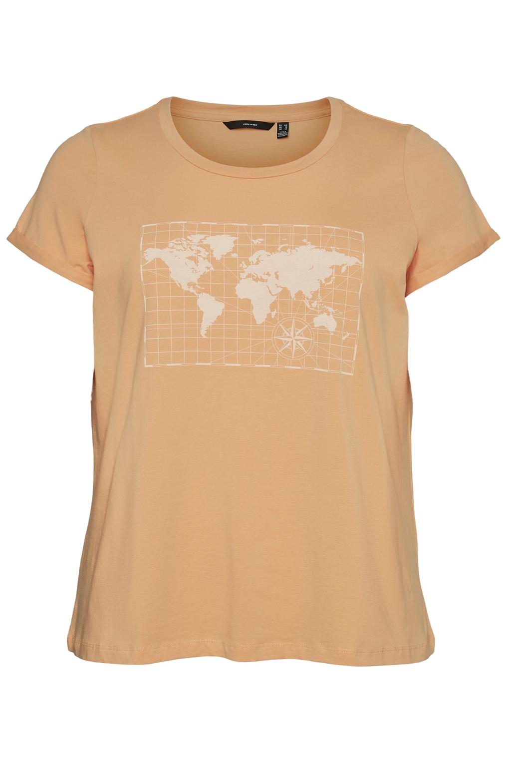 VERO MODA curve t-shirt VMREKKI