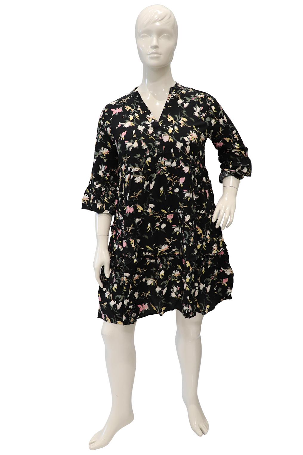 VERO MODA curve jurk print SIMPLY