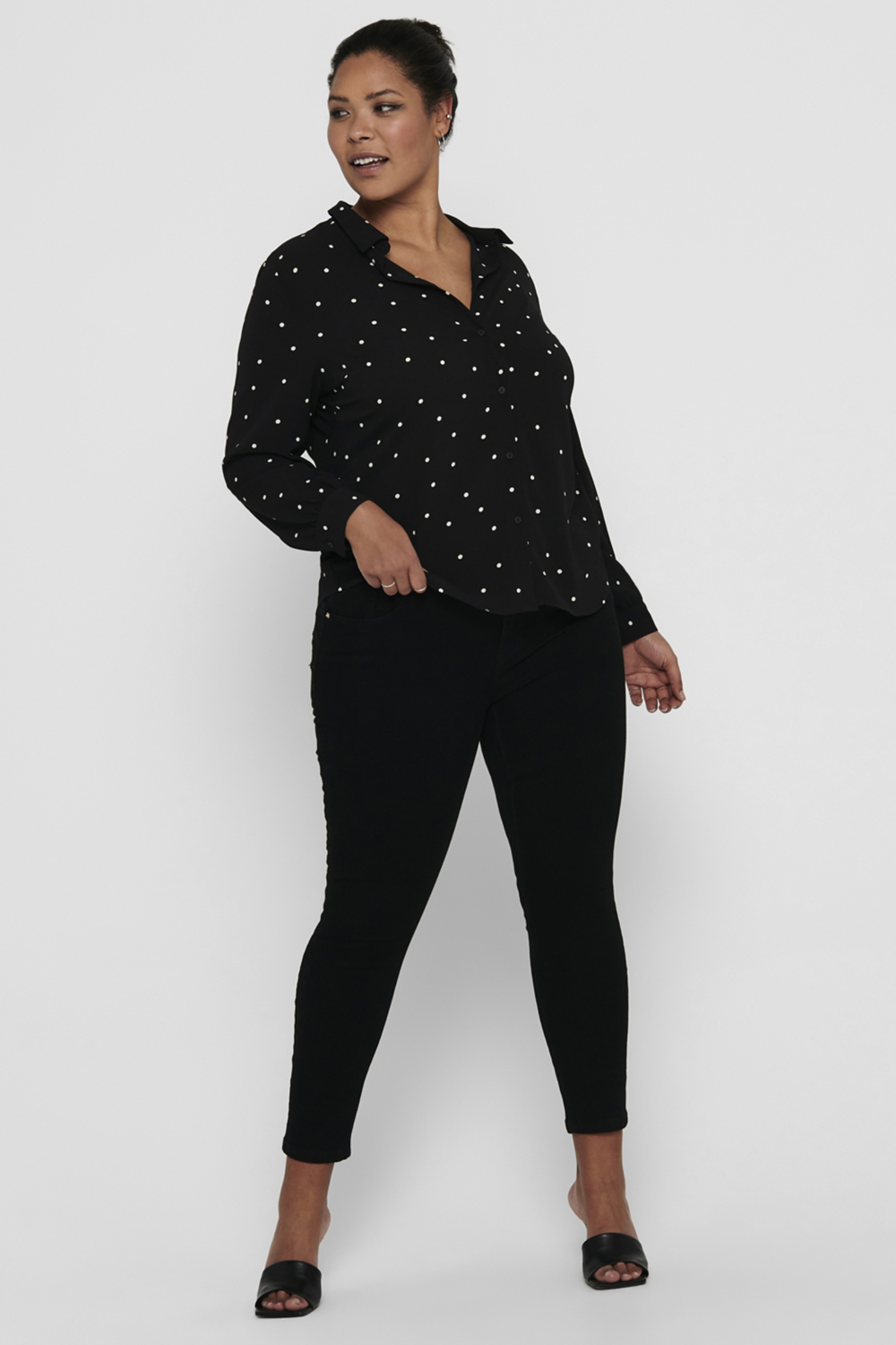 Shirt LUX MILA LS ONLY Carmakoma