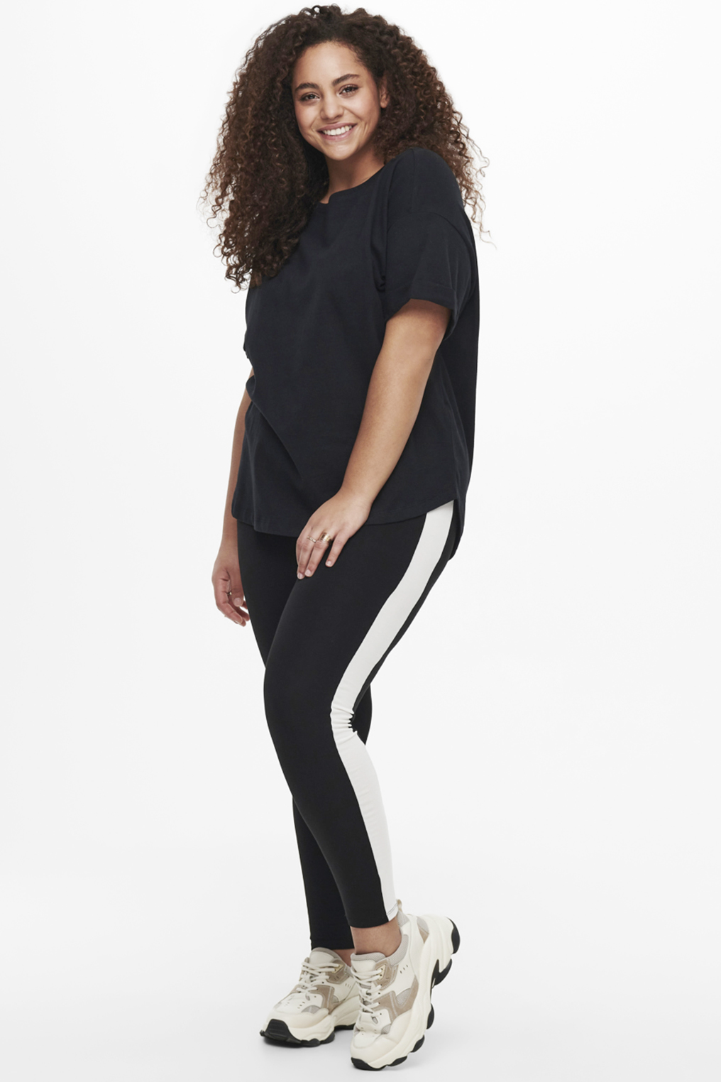 Legging Time ONLY C witte zijbies