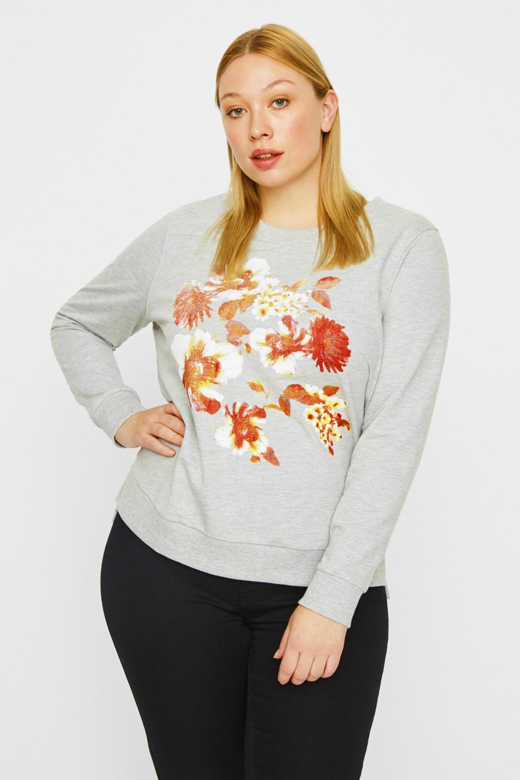Sweater Junarose DIANNA bloem