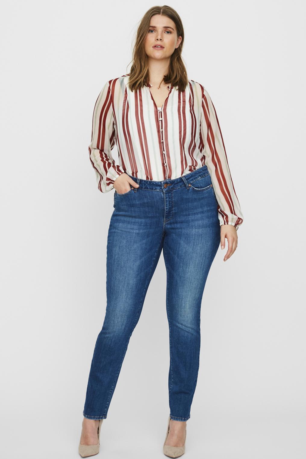 Jeans FIVE Junarose aparte zakinzet