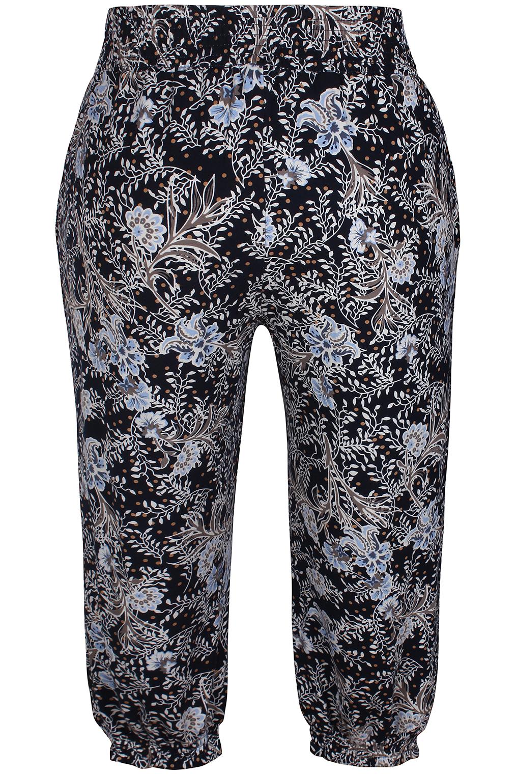Zhenzi broek Esna tricot print