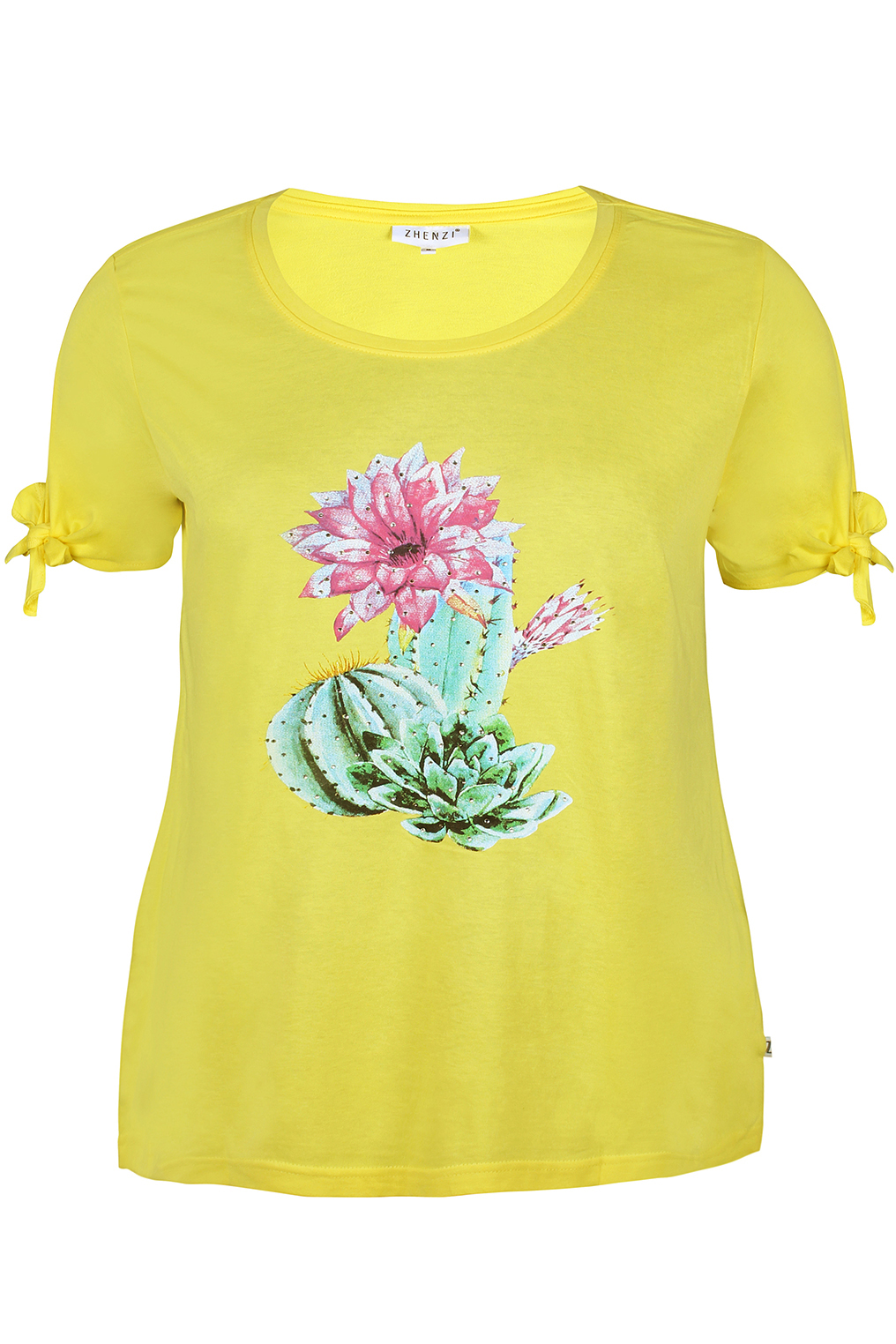 Shirt Zhenzi ALVILDE kaktus opdruk