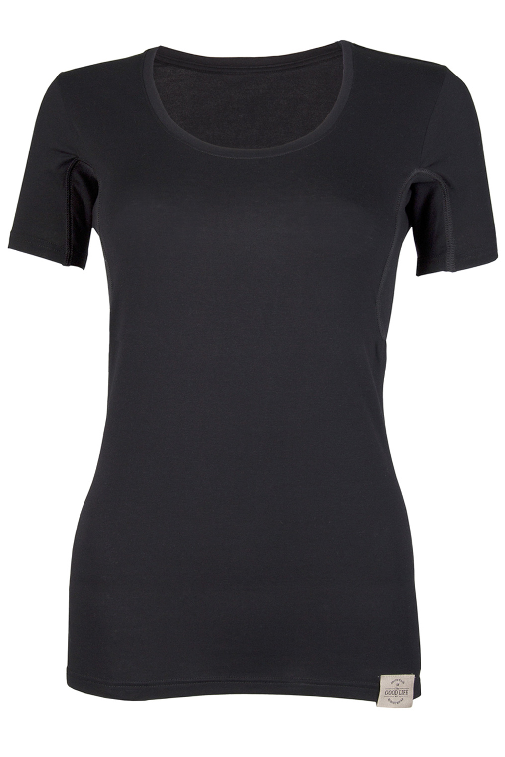 RJ Good Life Dames T-Shirt Oksel