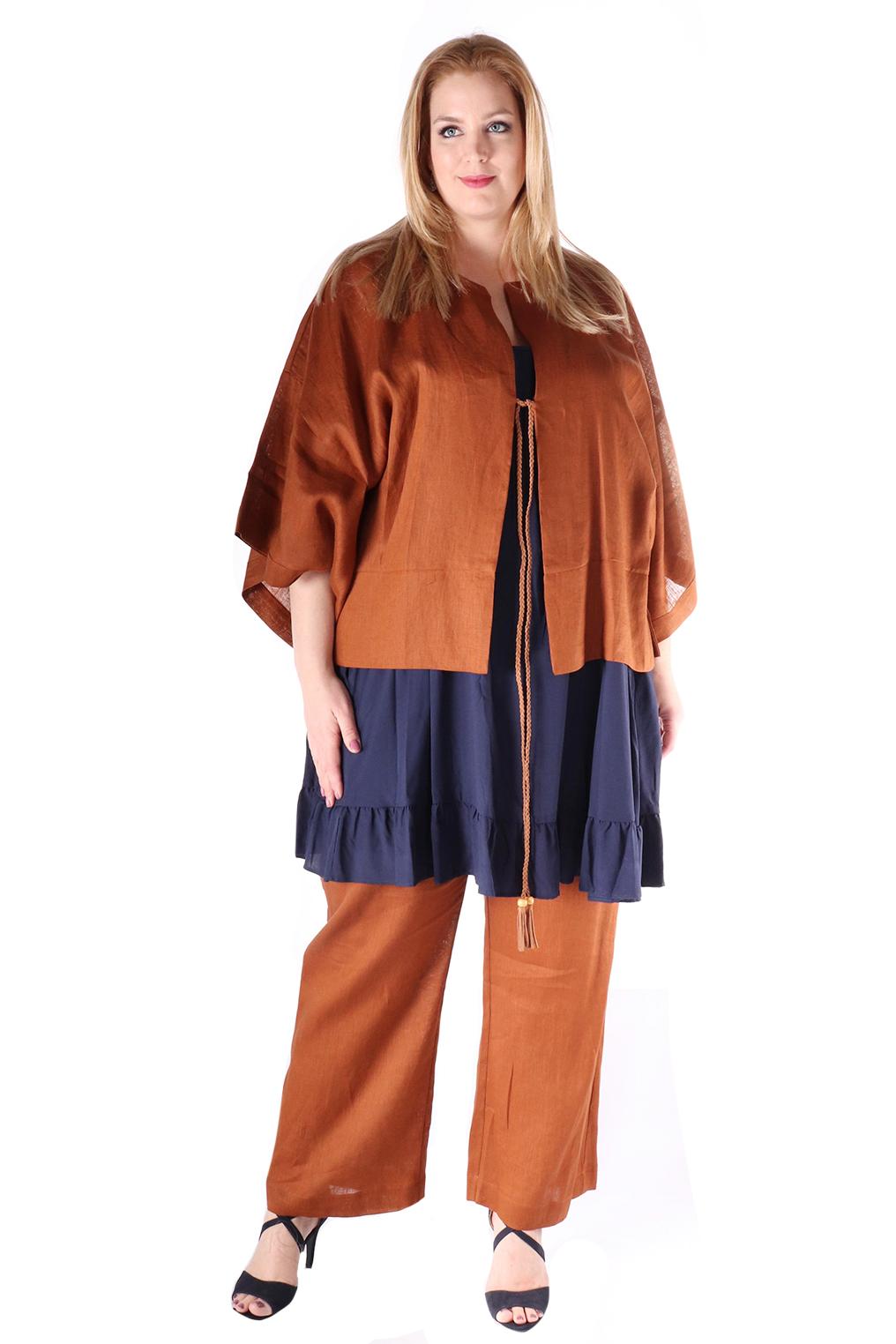 Jasje Mat fashion wijd linnen