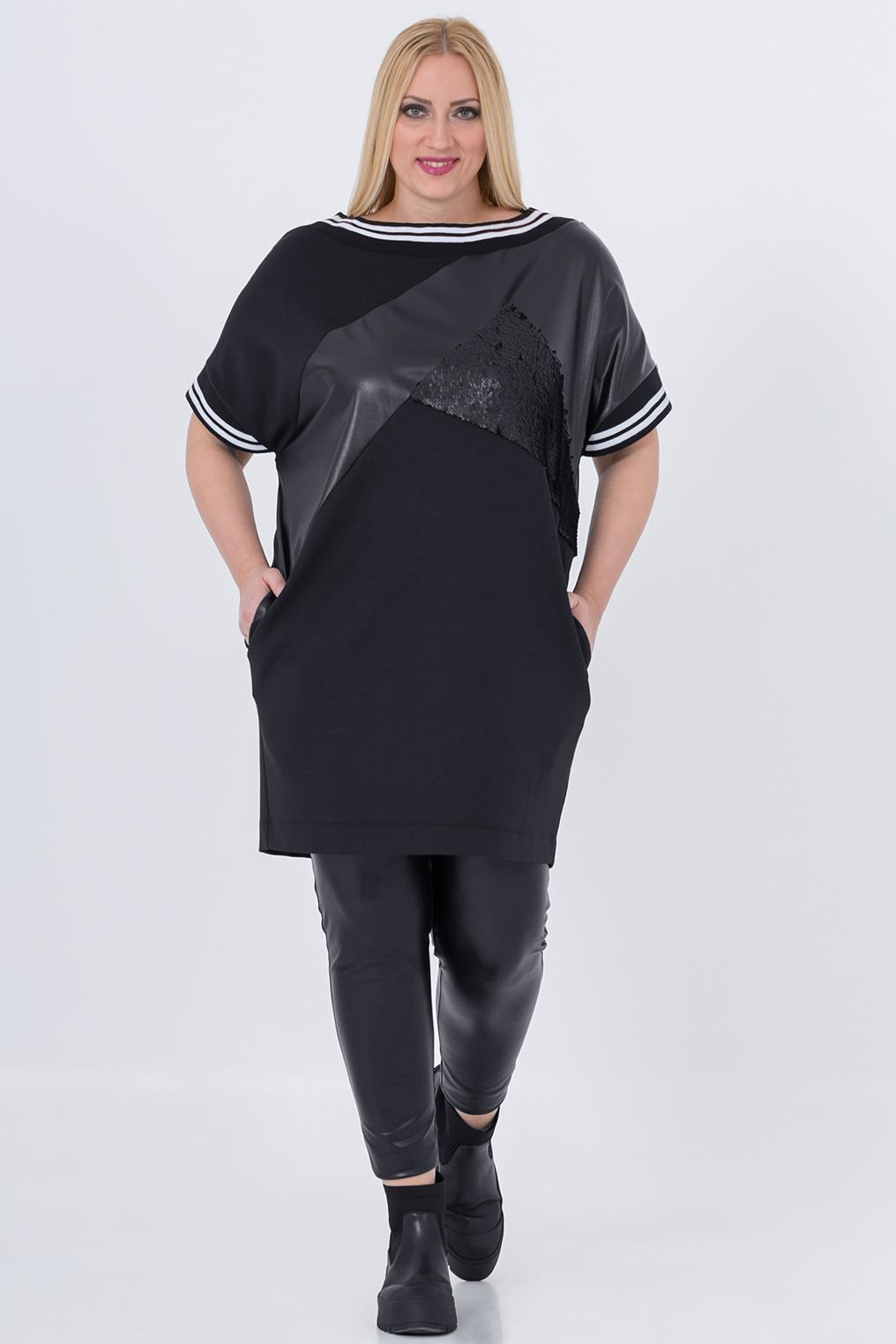 Tuniek Mat fashion combi stofjes