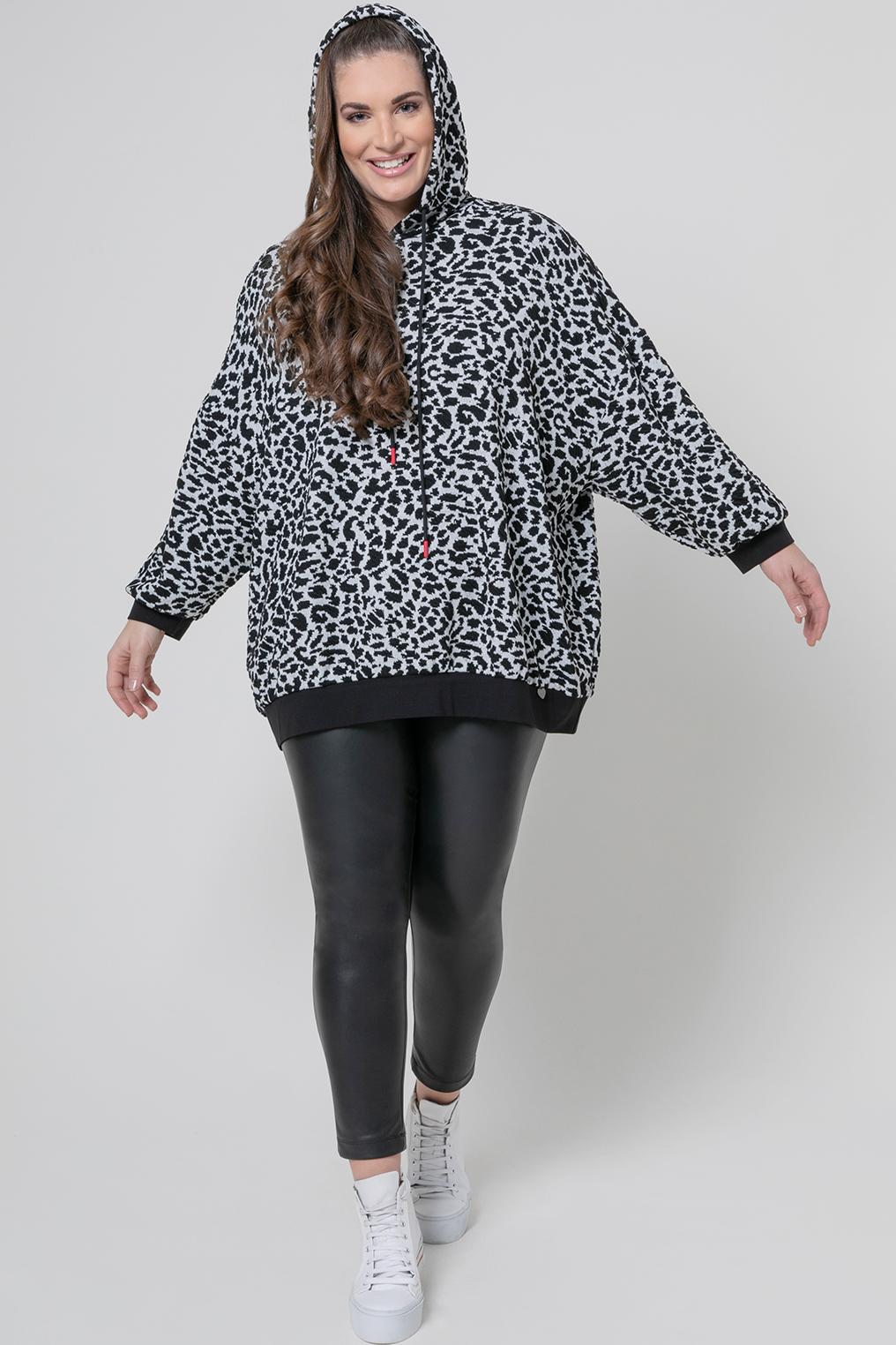 Mat fashion tuniek animal print