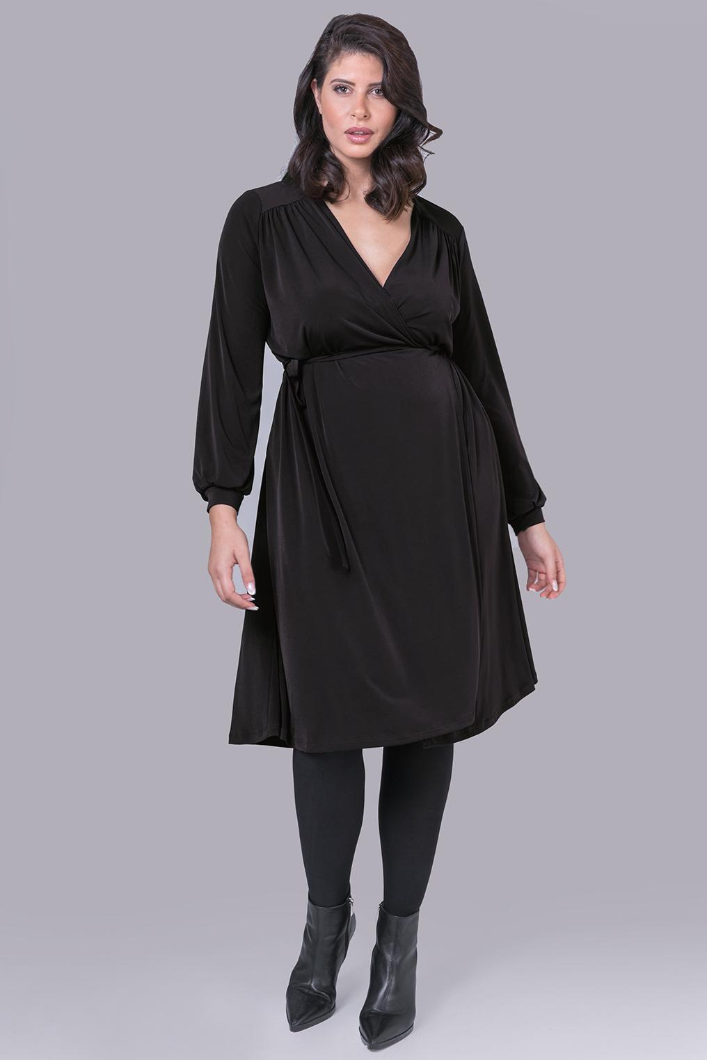 Mat jurk wikkel model