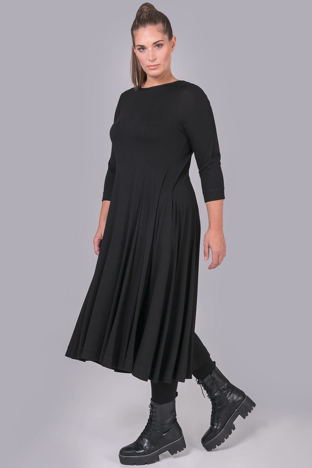Mat Fashion jurk klokkend