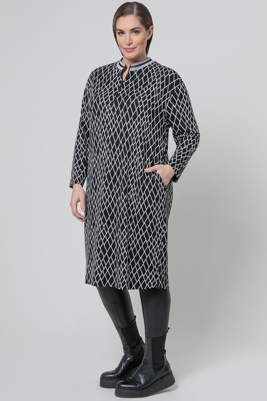 Mat fashion tuniek print