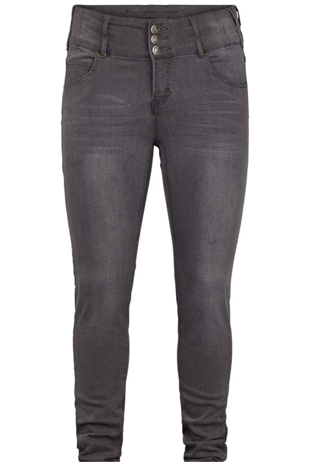 Jeans Adia Rome dubbel taille knoop
