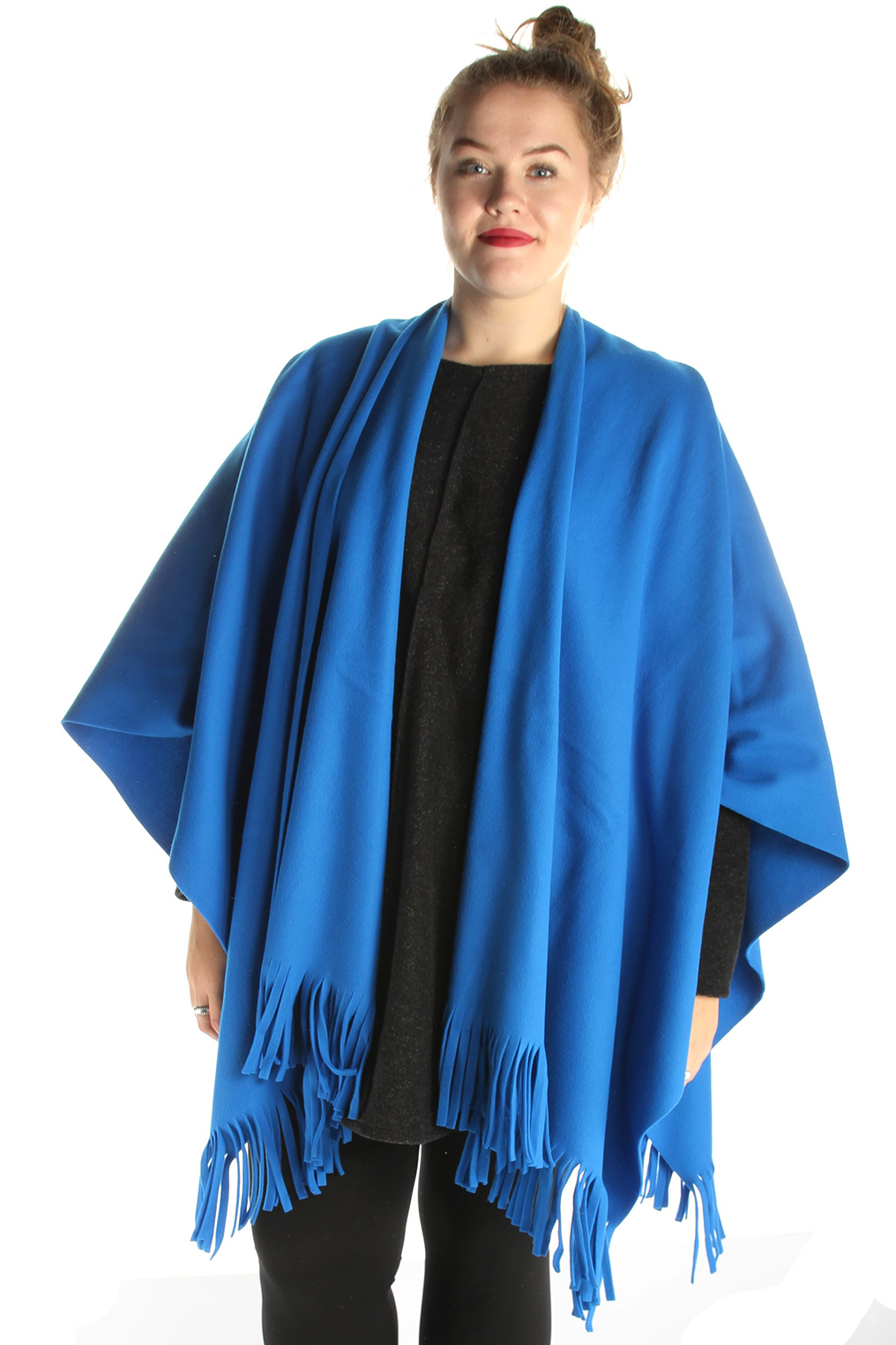 Sjaal Boris poncho fleece