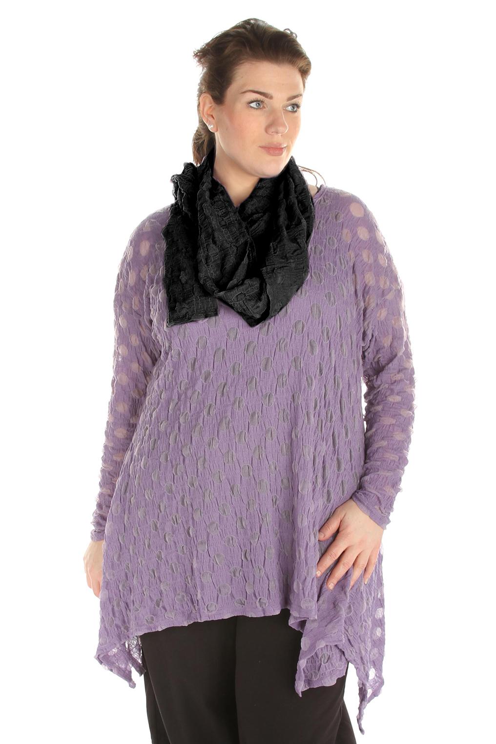 Sjaal Boris lang mousse tricot