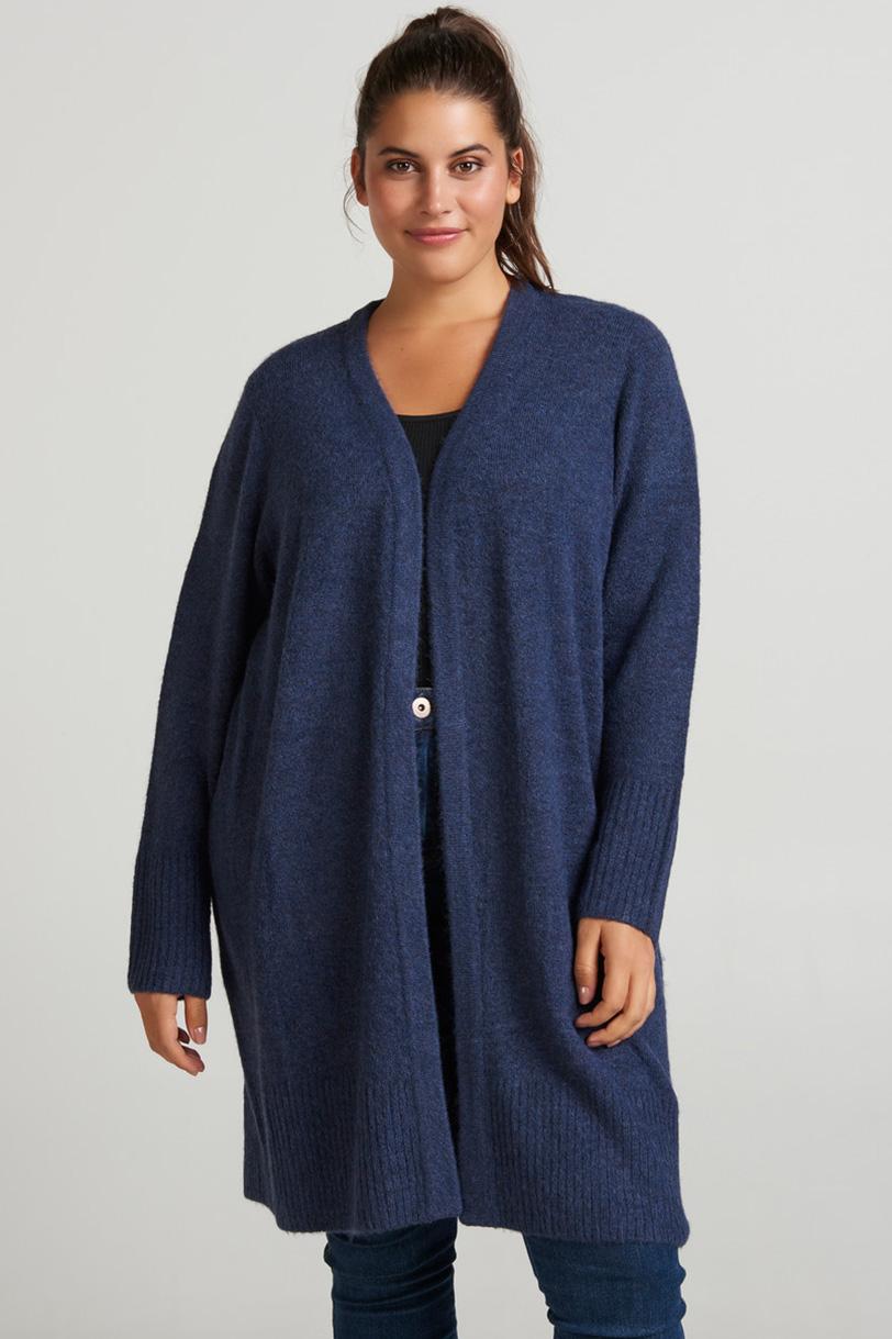 Vest PIPPA Zizzi soft knit