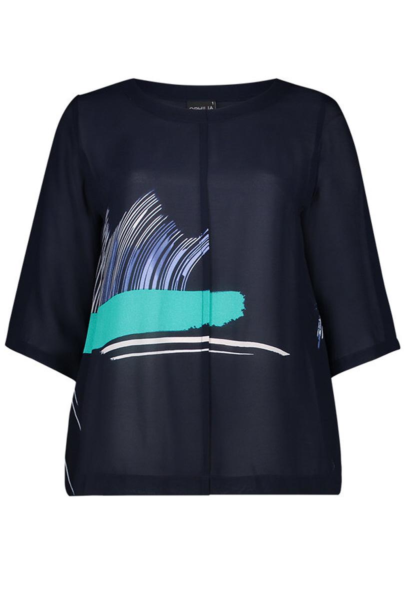 Shirt Denise Ophilia viscose dessin