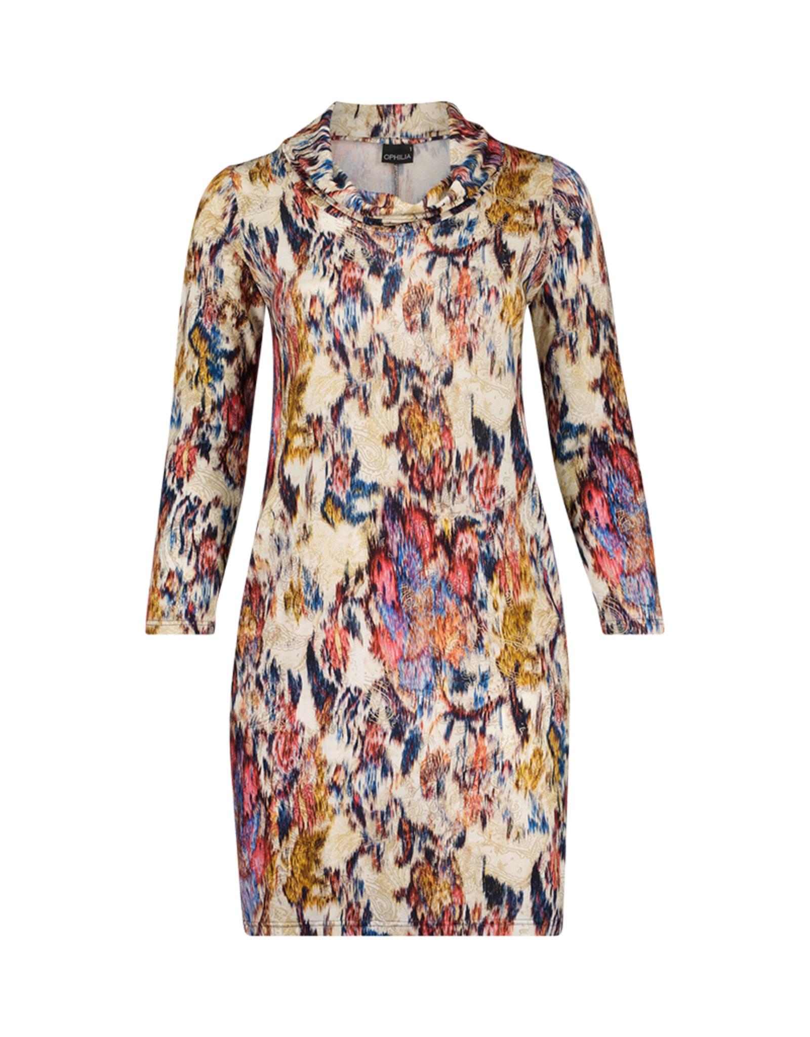 Ophilia jurk Garbo print