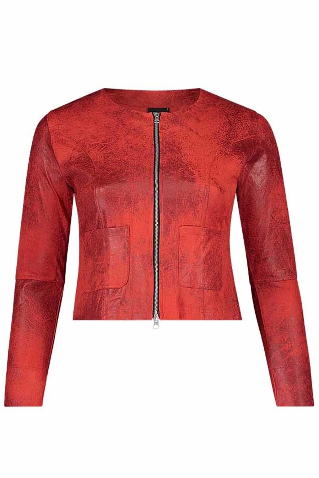 Jas Lara vintage leather Ophilia