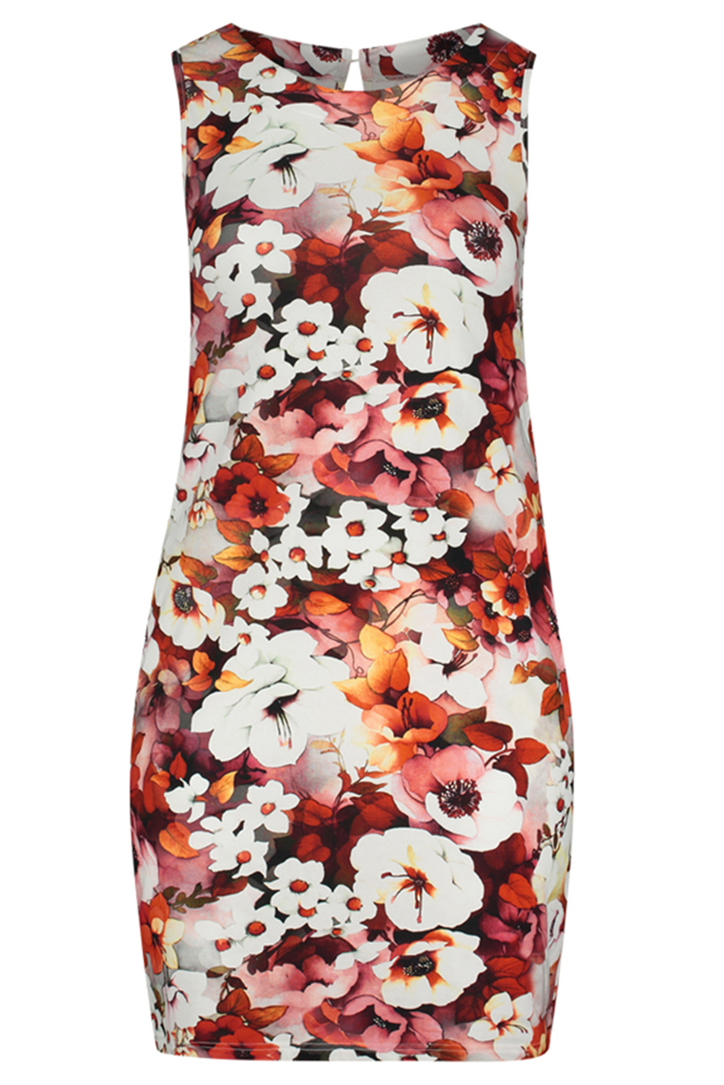 Jurk Ophilia Lauren Print cotton