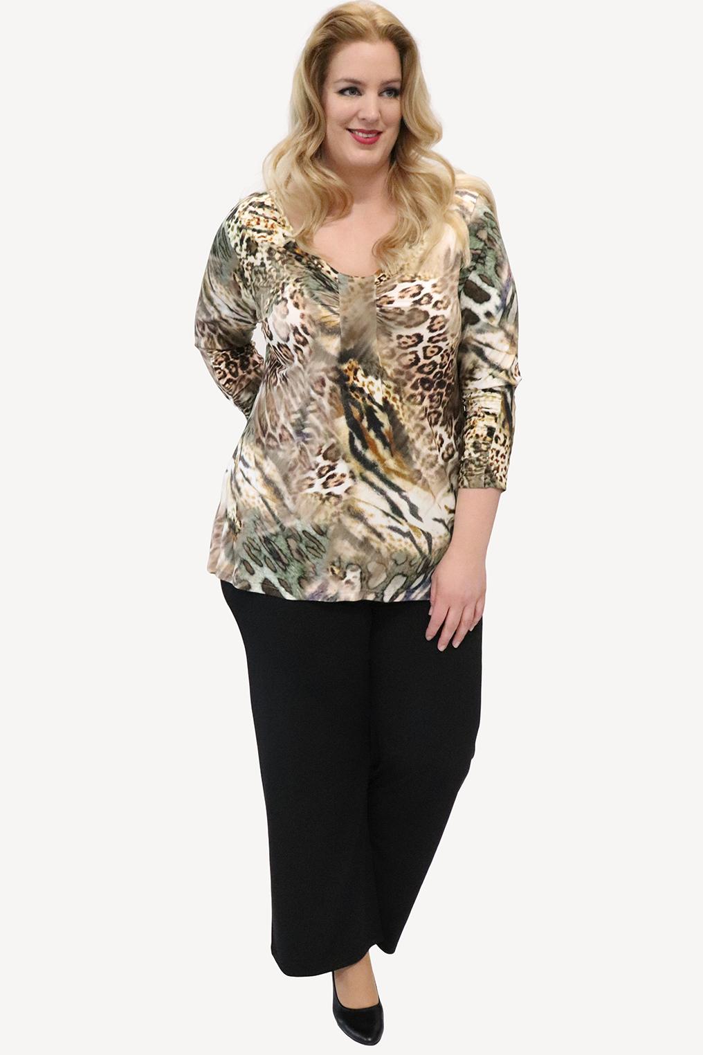 Shirt  Liyana Ophilia Print