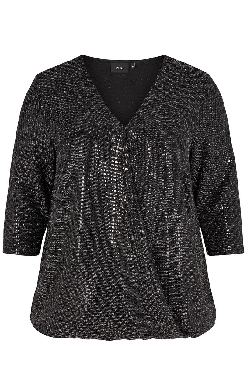 Tuniek NAOMI Zizzi glitter tricot