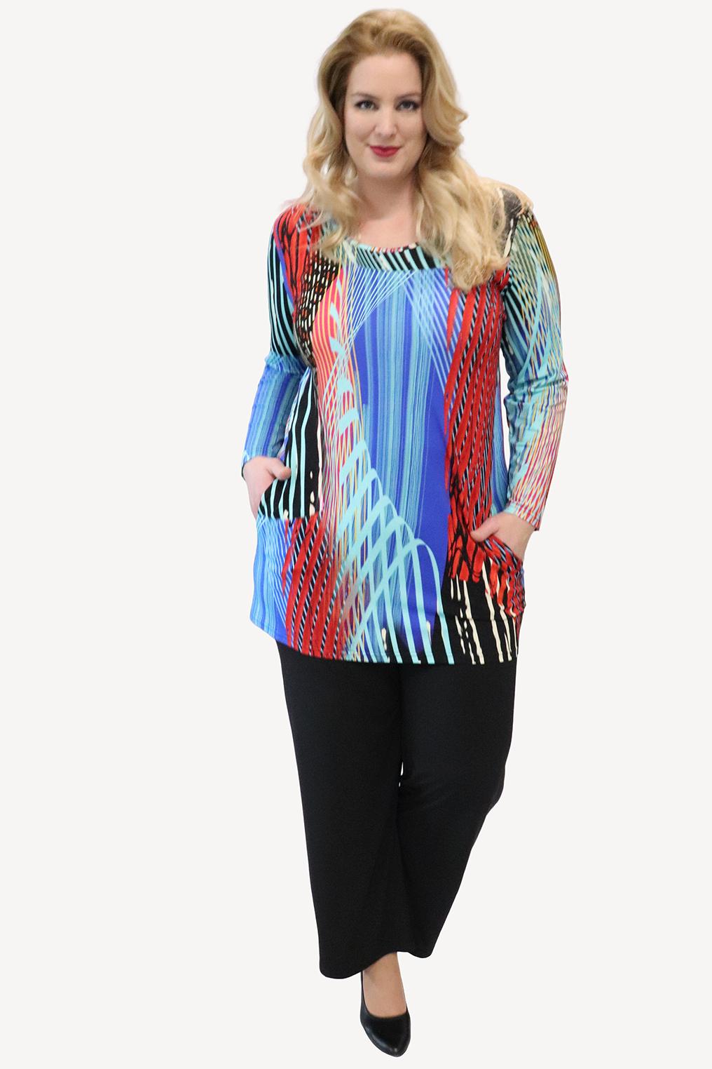 Shirt Ophilia Nola print