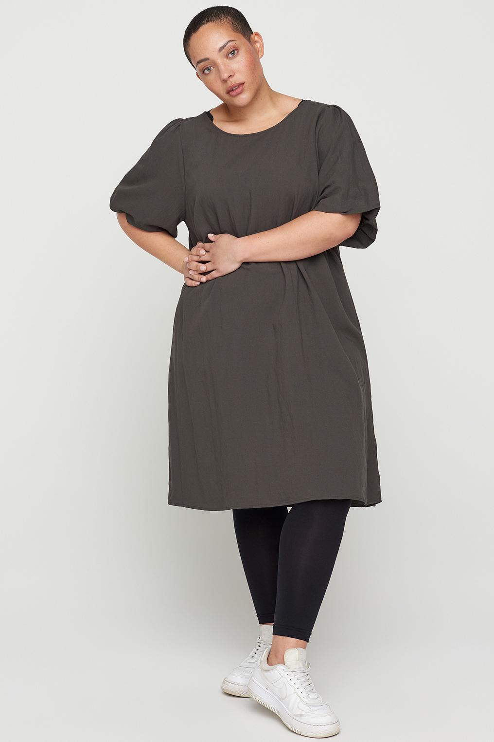 Zizzi jurk VMACY Alijn pofmouw