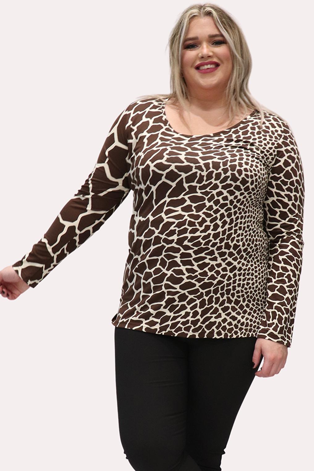 Shirt Marieke Ophilia dieren print