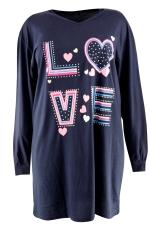 Slaapshirt lm Entex one size love me