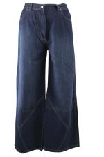 Jeans lang wijd scheve deeln.