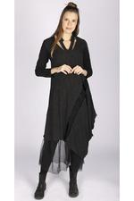Luukaa jurk streep a symmetrisch