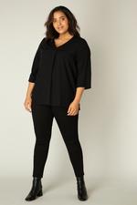 Base Level Curvy blouse Airene