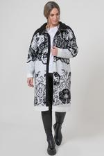 Mat fashion vest inbrei print