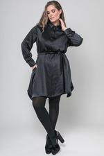Mat fashion blouse satijn