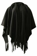 Sjaal Boris fleece poncho reversible