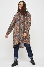 Adia blouse lang print