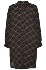 Gozzip blouse Hanne lang ruit