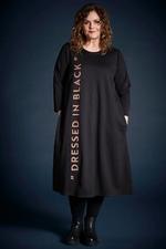 Gozzip jurk Gry tekst zijkant
