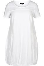 Jurk EASY Zizzi cotton sheeting