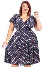 Jurk Lyra Lady V Jelly Bean print
