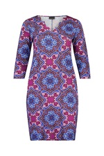 Ophilia jurk Rianne print