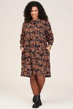 Studio jurk Lise bloem print
