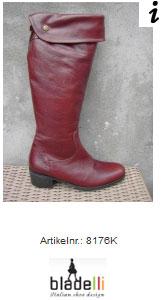 laarzen smalle schacht