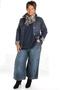 Grote maten Jack stretch jeans getailleerd | 8870-26deni/dark0