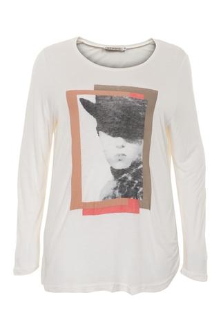 Shirt Studio lm gezicht opdruk voor