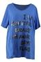 Shirt tekst opdruk met pailletten