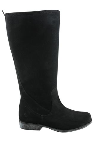 Grote maten Laars JJ footwear 2/3xw suede Scoob | 1112144-24zwar/2-3Xs44