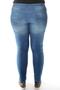 Grote maten Jeans Maxima knoop gulp   11517-15deni/lich44