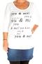Shirt Zizzi tekst voor