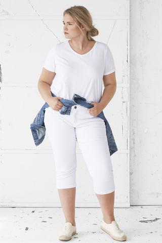 Jeans Zizzi 7/8 slim fit | J10305C010144